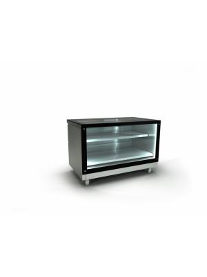 Βιτρίνα ζαχαροπλαστείου με διπλά τζάμια με μηχανή