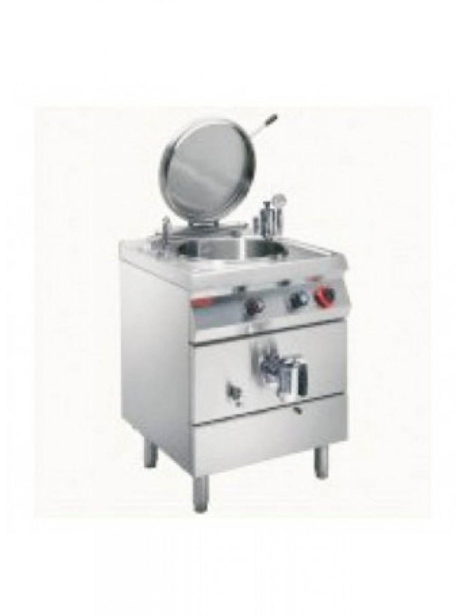 Ηλεκτρικός Βραστήρας έμμεσης θέρμανσης 60L Angelo Po