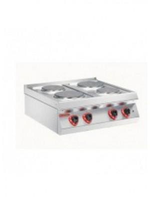 Κουζίνα ηλεκτρική 4 εστιών Angelo Po