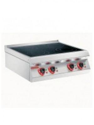 Ηλεκτρική πυροκεραμική κουζίνα Θέρμανση με επαγωγή ενιαίας πλάκας