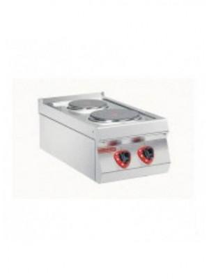 Κουζίνα ηλεκτρική 2 εστιών Angelo Po