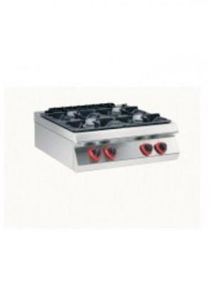 Κουζίνα αερίου επιτραπέζια με 4 εστίες 70 cm Angelo Po