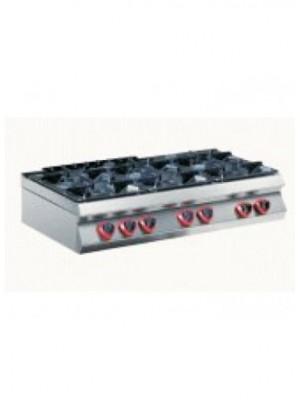 Κουζίνα αερίου επιτραπέζια με 6 εστίες 105 cm Angelo Po