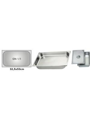 Δοχείο inox 1/1 GN 10Ycm