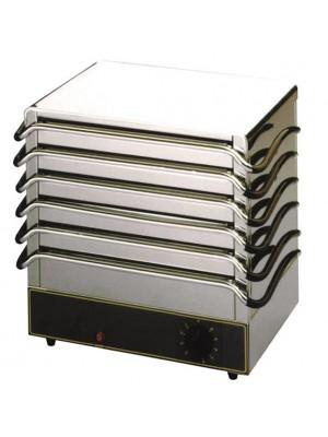 Θερμαινόμενες Πλάκες DW106 Έξι Θέσεων