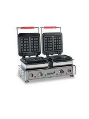 Συσκευή Για Βάφλες Διπλή ITAL0015